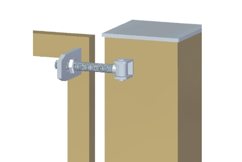 Adjustable hinge with plate fixed